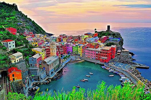 Frozen in Time Fine Art Photography - Paradise in Italy