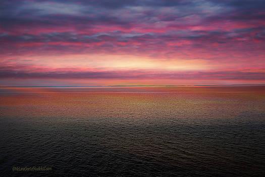Paradise Michigan Sunrise by LeeAnn McLaneGoetz McLaneGoetzStudioLLCcom