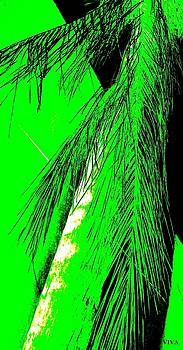 Paradise Palms Green by VIVA Anderson