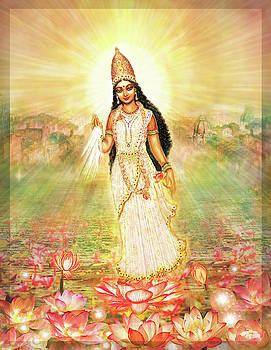 Parashakti_Devi,Great Mother Goddess In A Higher Dimension by Ananda Vdovic