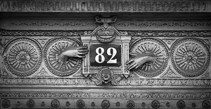 Paris House Number by Dave Mills