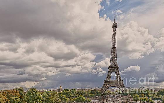 Paris Landscape by Lynn Bolt