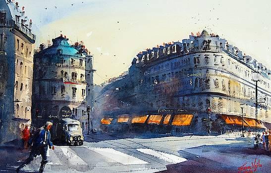Paris, Near Opera by James Nyika