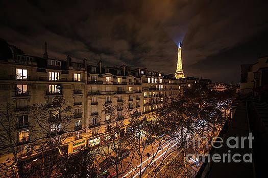 Paris Night Movement by Mike Reid