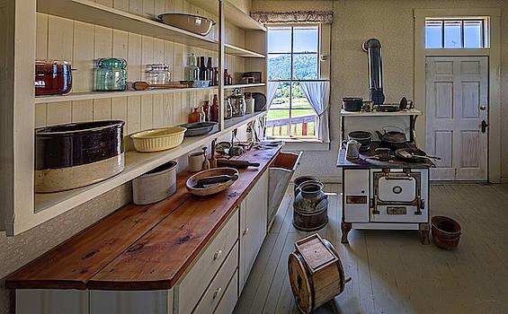 Parish House Kitchen by David Sams