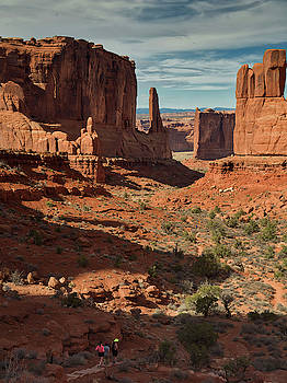 Park Avenue in Arches National Park, UT by Mark Langford