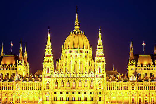 Parliament at Twilight by Andrew Soundarajan
