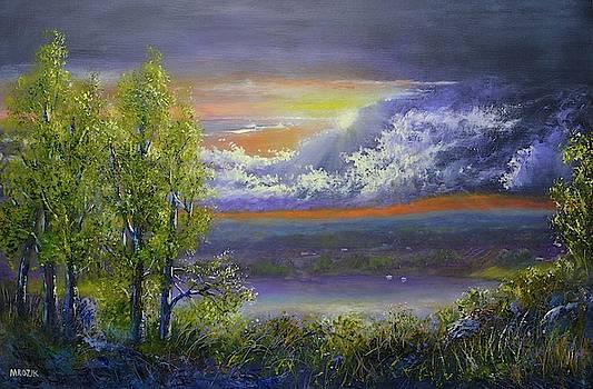 Passing Storm by Michael Mrozik