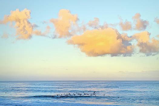 Pastel Clouds by Sean Davey
