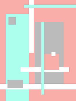 Jenny Rainbow - Pastel Geometric Abstract