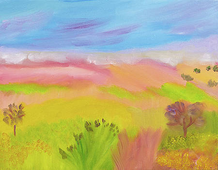 Pastel Dreamland by Meryl Goudey
