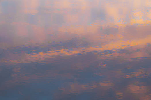 Pastel Reflection on Water by Michael Hills