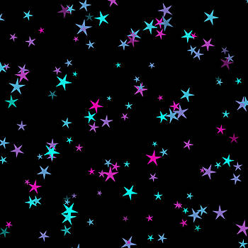 Pastel Stars by Abagail Wells