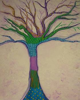 Patchwork Tree by Vale Anoa'i