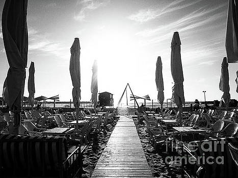 Path Leading to Water From Beach Bar by PorqueNo Studios