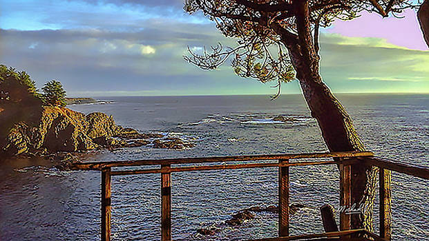 Patio Ocean View by Michael J Connor