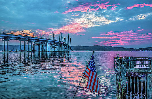 Patriotic Sunset by Jeffrey Friedkin