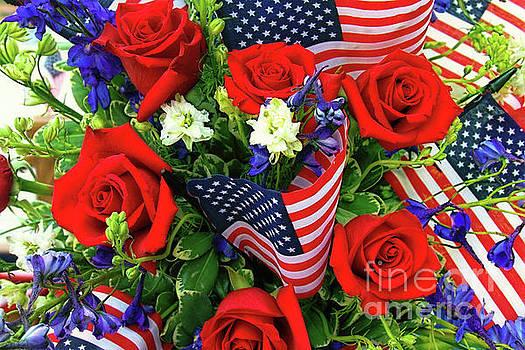 Patriotic Tribute by Geraldine DeBoer
