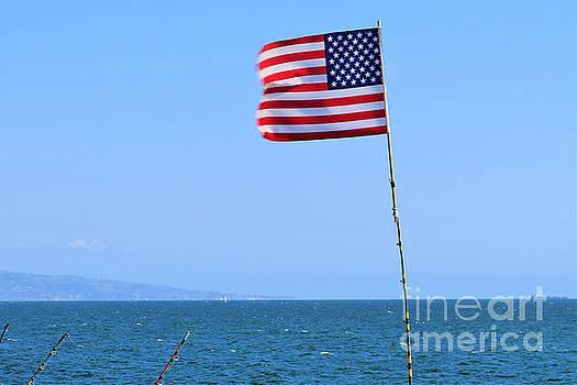 Diann Fisher - Patriotism In America - Santa Monica