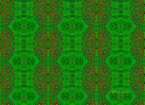 Kae Cheatham - Pattern in Green