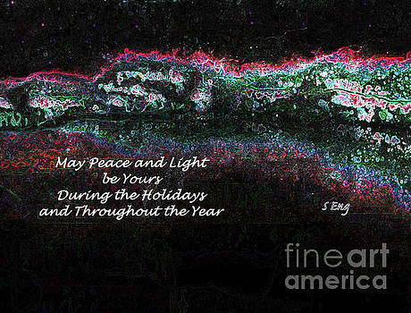 Sharon Williams Eng - Peace and Light Holiday Card 300