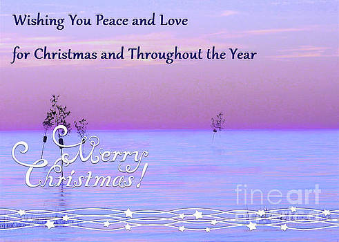 Sharon Williams Eng - Peace and Love for Christmas Card