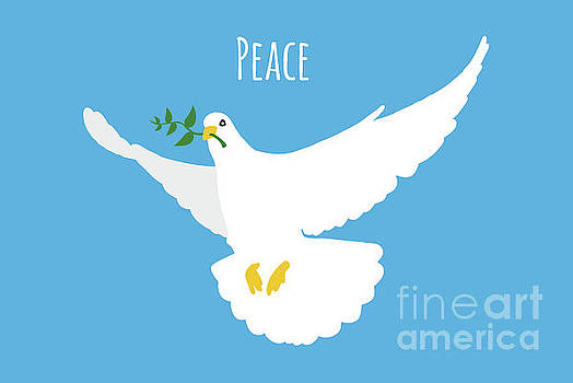 Peace Dove by Leon Woods