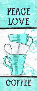 Peace, Love Coffee by Debbie DeWitt