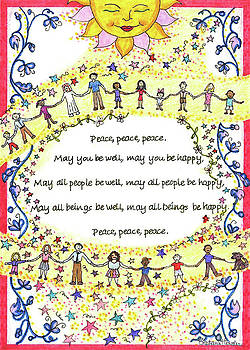 Peace, Peace, Peace by Stephanie Hessler