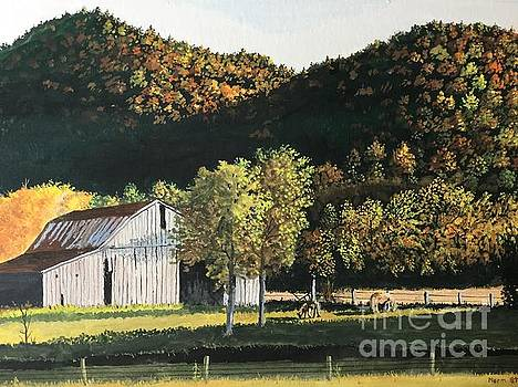 Peaceful Fall Evening by Norm Starks