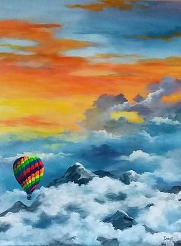 Peaceful Flight by Danett Britt