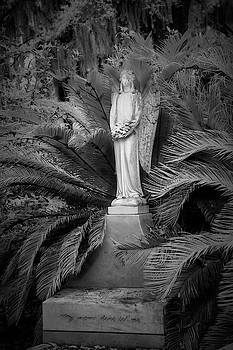 Peaceful  Thoughts at Bonaventure Cemetary II by Jon Glaser