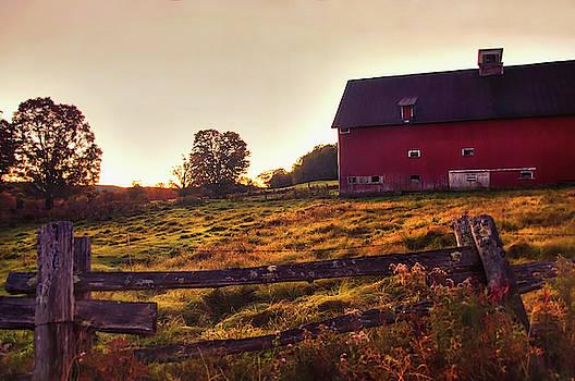 Peacham Vermont Autumn by Joann Vitali