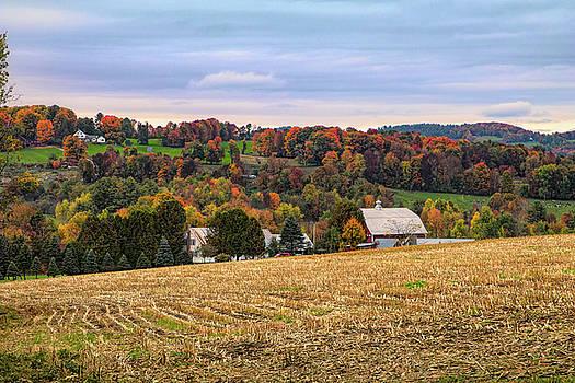 Peacham Vermont Farm by Jeff Folger
