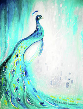 Peacock by Andrea Realpe