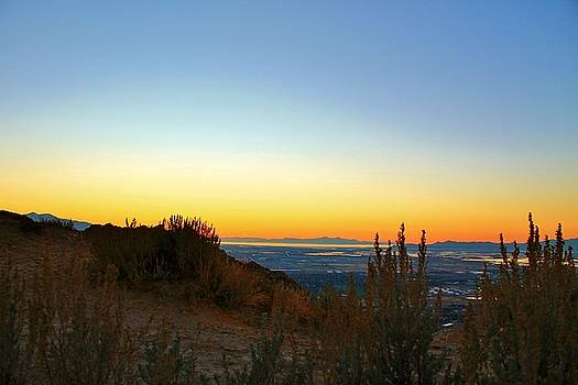 Peaking over the Peak by Catie Canetti