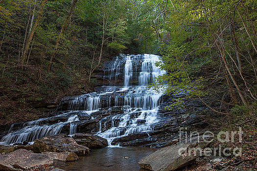 Pearson's Fall and Glen - Saluda North Carolina by Dale Powell