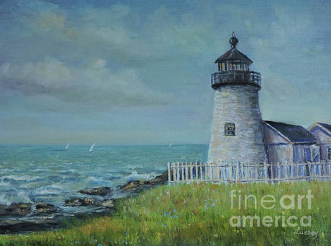 Pemaquid Point Lighthouse by Katalin Luczay