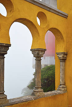 Pena Palace in Fog by Kathy Yates