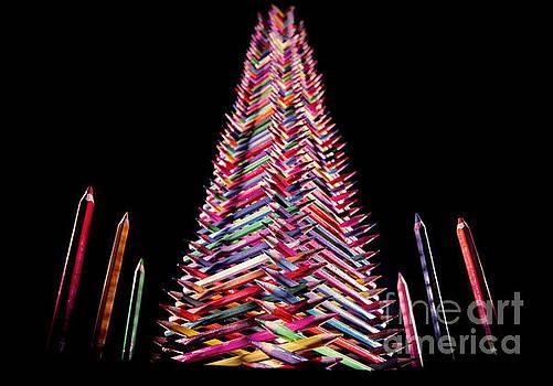 Pencil Tower by Roberto Agagliate