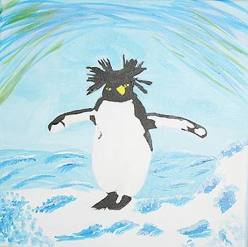 Penguin on Ice  by Yvonne Sewell