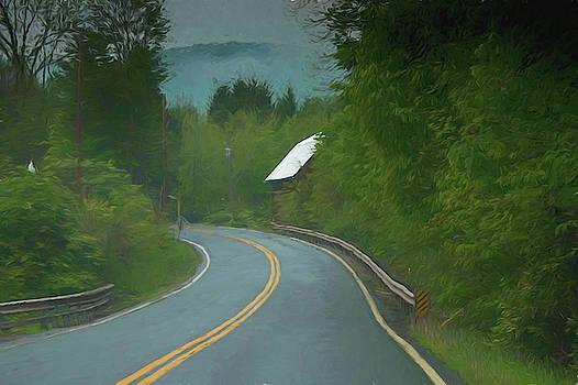 Pennsylvania Back Road by Alan Goldberg