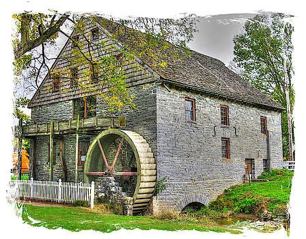 Pennsylvania Country Roads - Herr's Mill at Pequea Creek No. 2 - Soudersburg, Pa by Michael Mazaika
