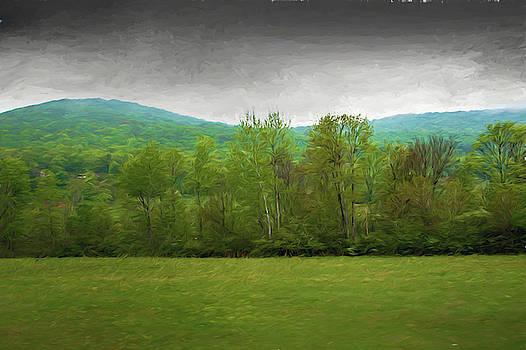 Pennsylvania country side  by Alan Goldberg