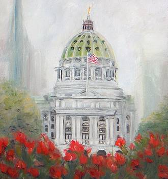 Pennsylvania State Capitol  by Jacqueline Whitcomb