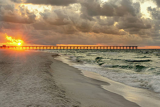 Brian Harig - Pensacola Beach Pier Sunrise - Pensacola Florida