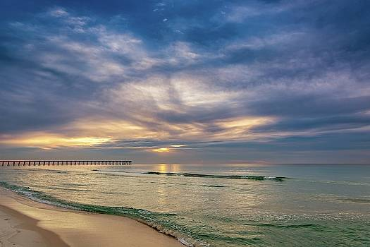 Pensacola Beach Sunrise by Chris Buff