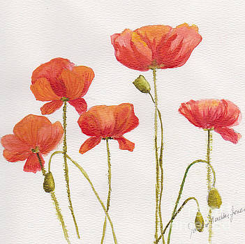Peppy Poppies by Jackie Mueller-Jones