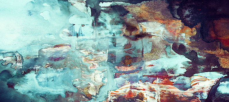 Perfect Morning - Large Contemporary Abstract Painting by Modern Art Prints