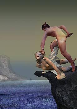 Perseus fighting Medusa by Lutz Roland Lehn